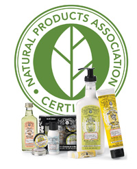 Watkins beauty products are certified by the Natural products association