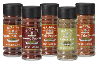 Watkins spices and seasoning blends