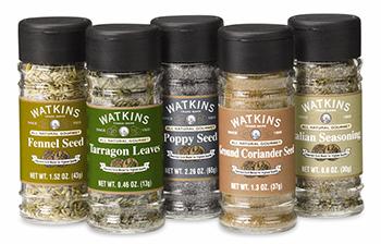 Watkins herbs and seasoning blends