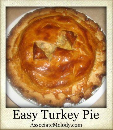Easy Turkey Pie