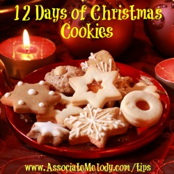 12 Days of Christmas Cookies Button