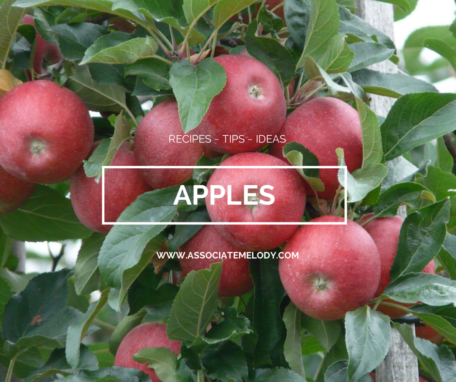 Tips ideas and recipes made with apples