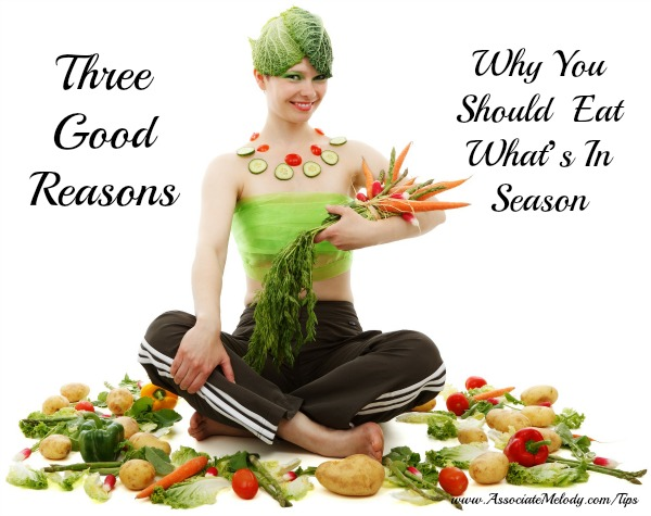 3 reasons to eat seasonal food