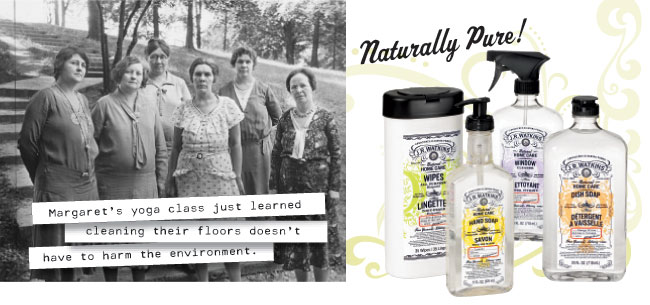 Watkins natural, plant based cleaners
