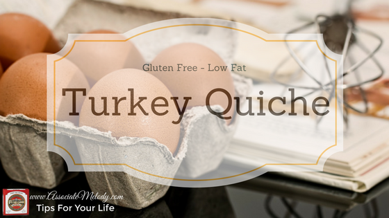 gluten free turkey quiche