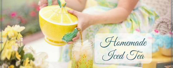 The Best Homemade Iced Tea