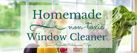 Make Your Own Non-Toxic Window Cleaner
