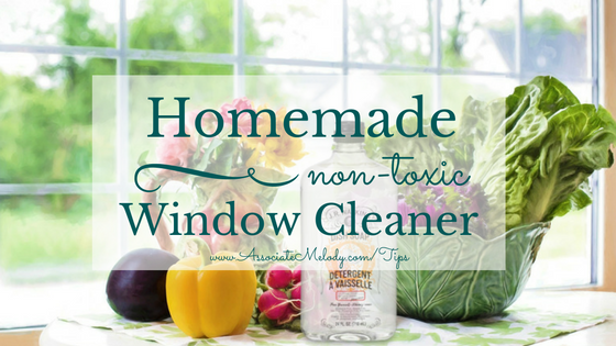 homemade non-toxic window cleaner