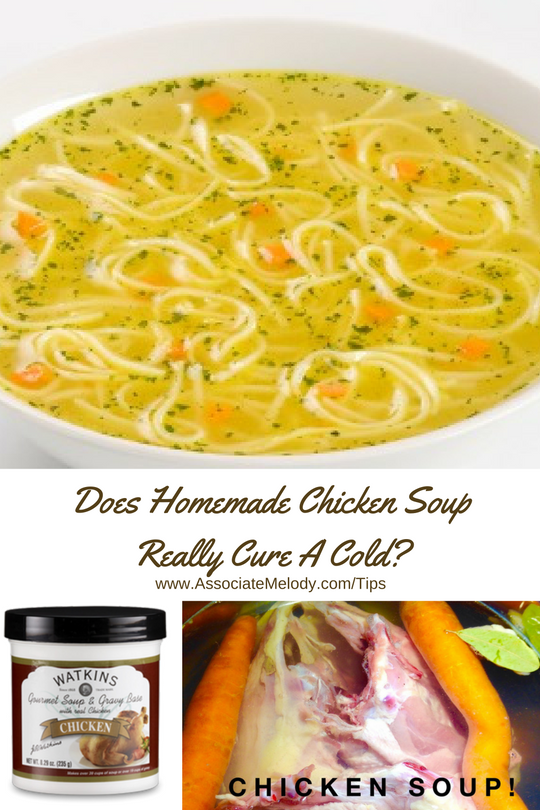 chicken soup cold rememdy