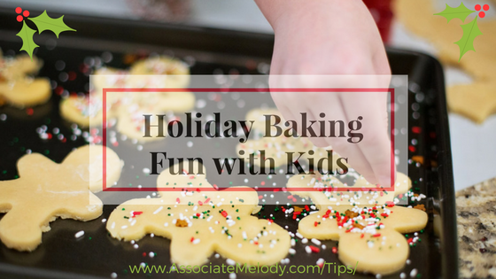 Holiday baking is fun with your children