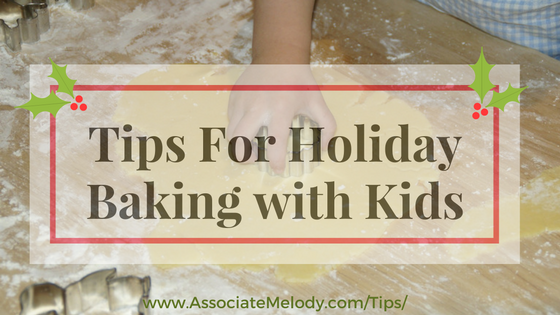 Tips for holiday baking with your kids
