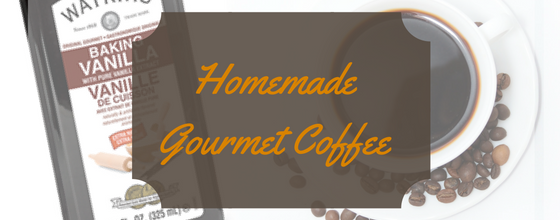 Homemade Gourmet Flavored Coffee