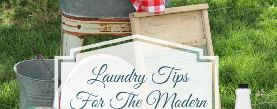 Laundry Tips For The Modern Family