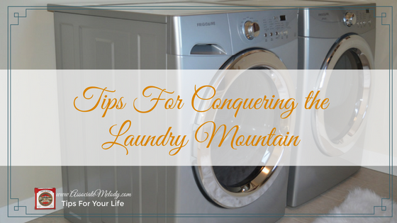 tips for conquering the laundry mountain