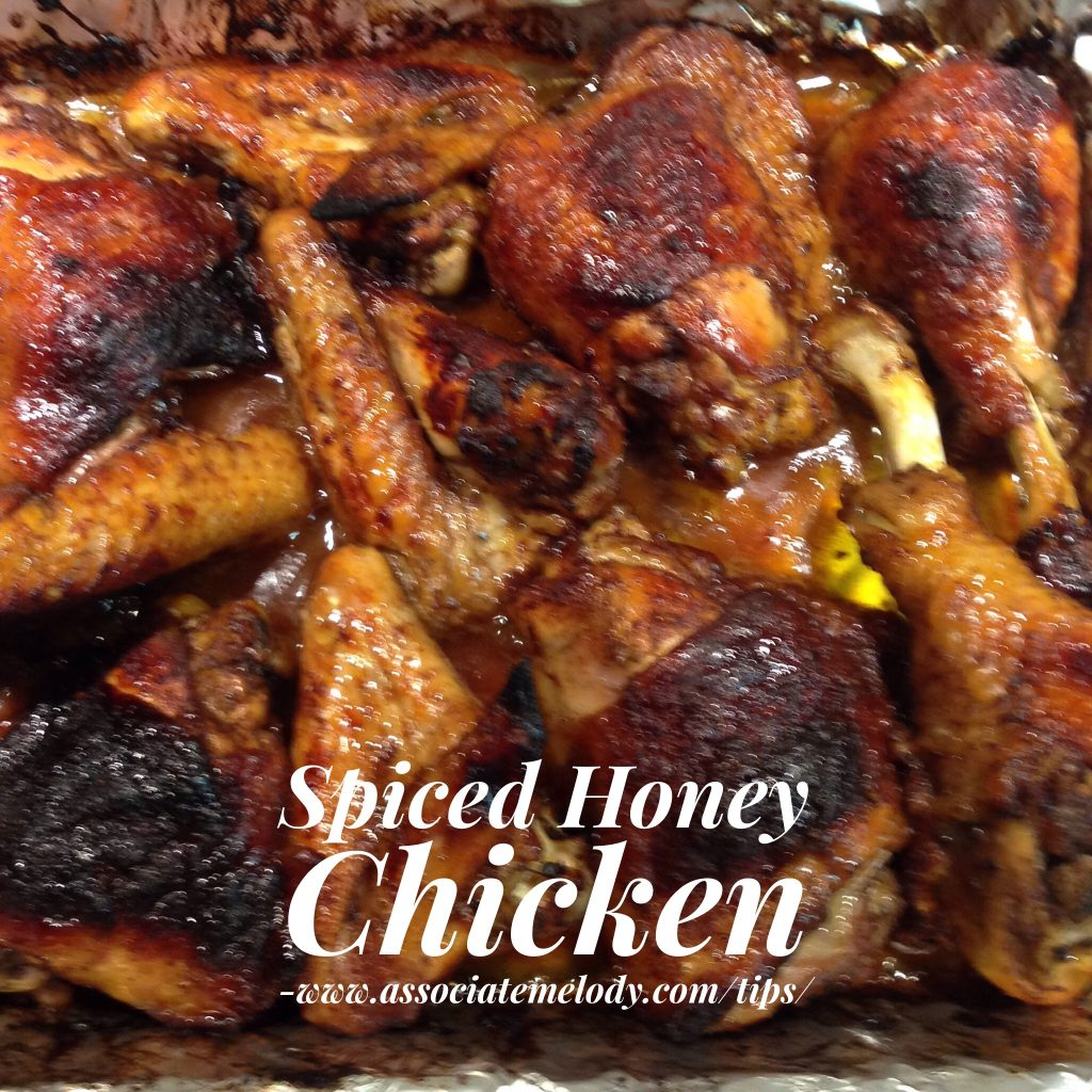 spiced honey chicken