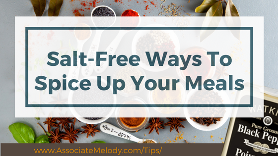salt free ways to spice up your meals