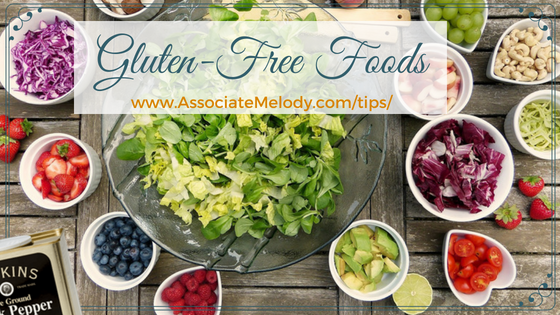 There a many gluten free foods to choose from