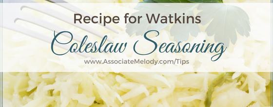 Watkins Coleslaw Seasoning