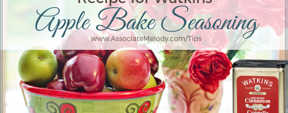 Watkins Apple Bake Seasoning