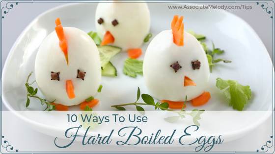 ten ways to use hard-boiled eggs