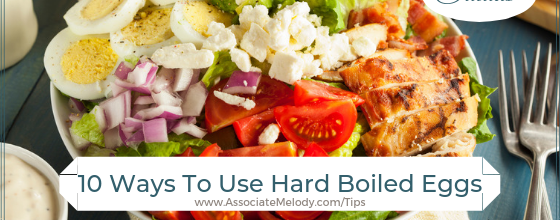 10 Ways To Use Hard Boiled Eggs