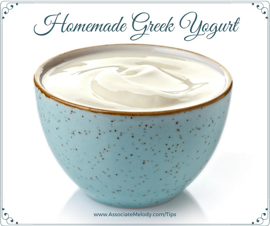 Easy Homemade Greek Yogurt