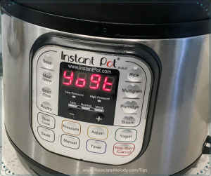 instant pot yogurt setting