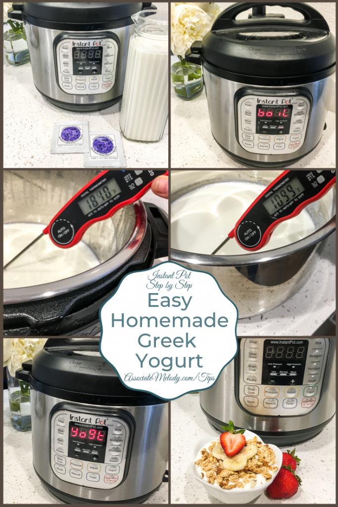 Easy Instant Pot Greek Yogurt