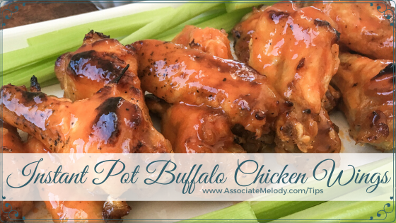 How To Make Buffalo Chicken Wings In The Instant Pot®
