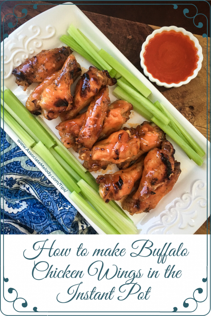 how to make buffalo chicken wings in an instant pot
