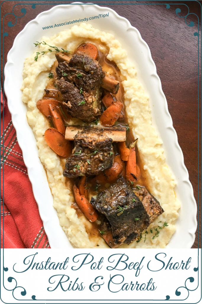 instant pot beef short ribs with carrots