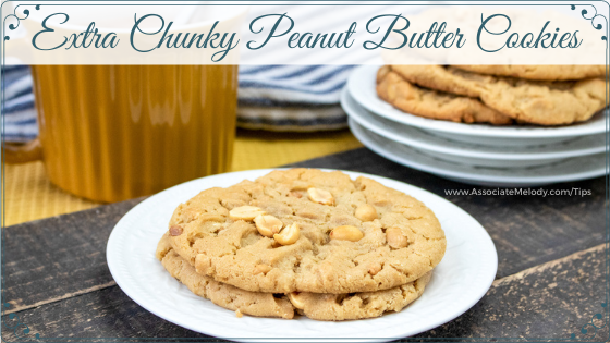 Extra Chunky Peanut Butter Cookies