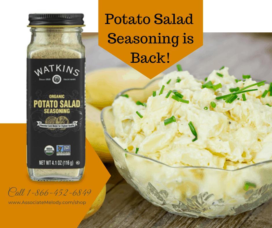 Potato Salad Seasoning is back!