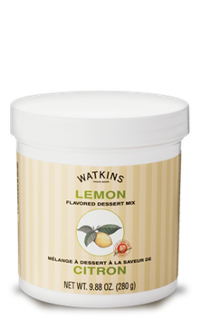 Watkins Lemon Dessert Mix for pies and puddings