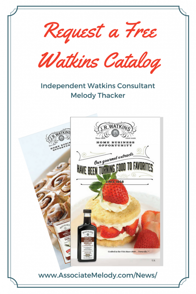 Request a JR Watkins product catalog