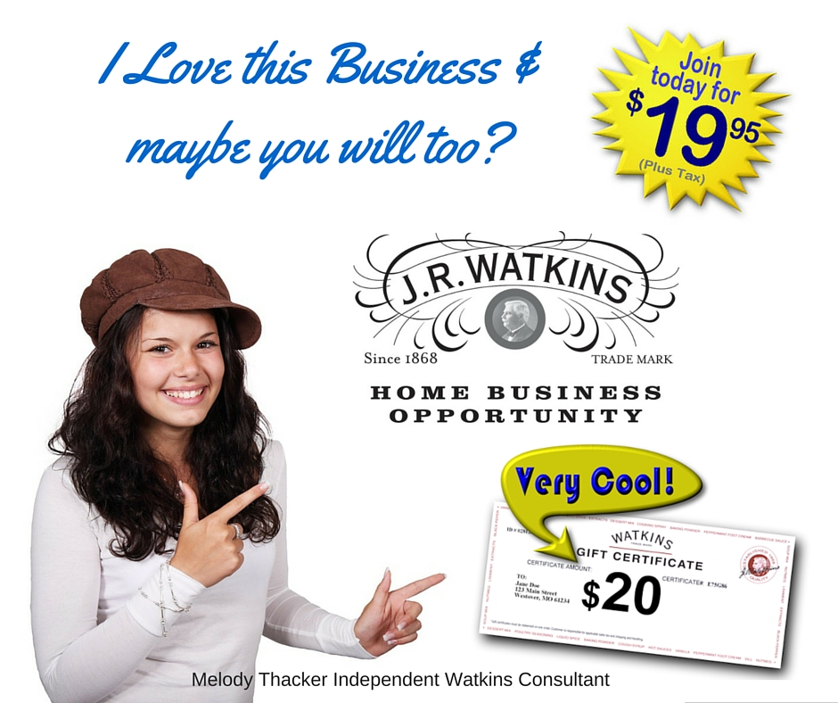 I Love my Watkins Business