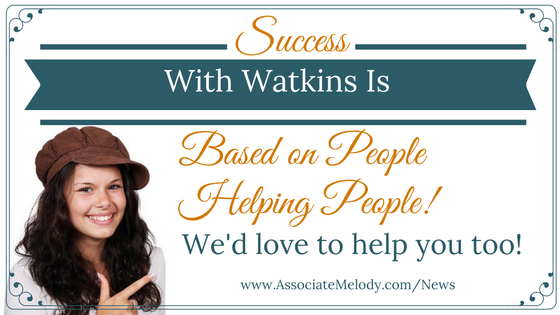 Watkins is about people helping people