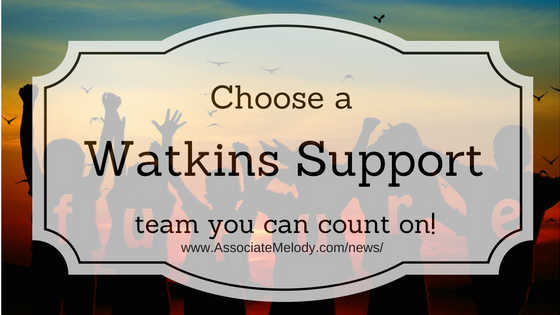 your Watkins support people are important