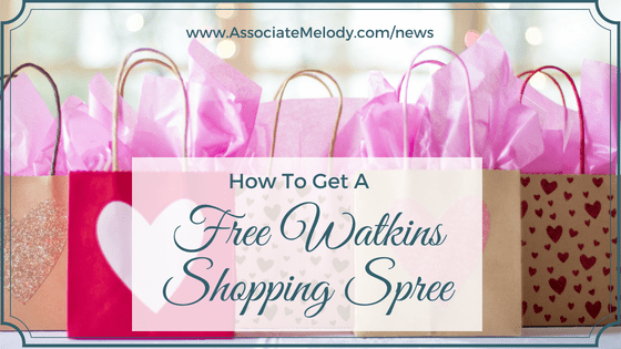 Watkins products shopping spree
