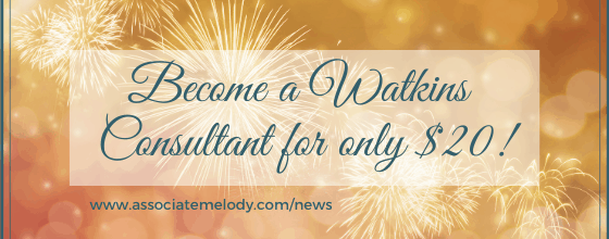 Join as a Watkins Consultant For Only $19.95