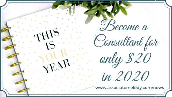 This is your year. become a Watkins consultant for $20 in January 2020