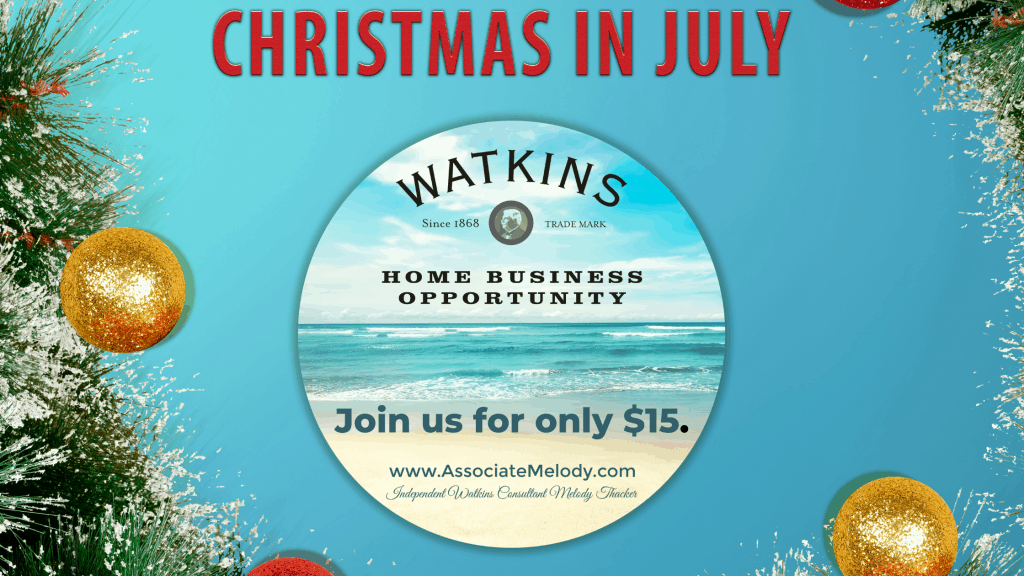Join Watkins for $15