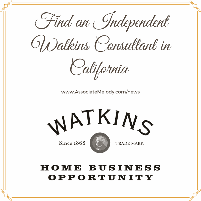 find a Watkins consultant or dealer in California